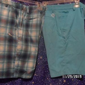 Boys Puma golfing shorts